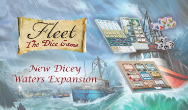 Fleet - The Dice Game - Dicey Waters Expansion - Vorbestellung